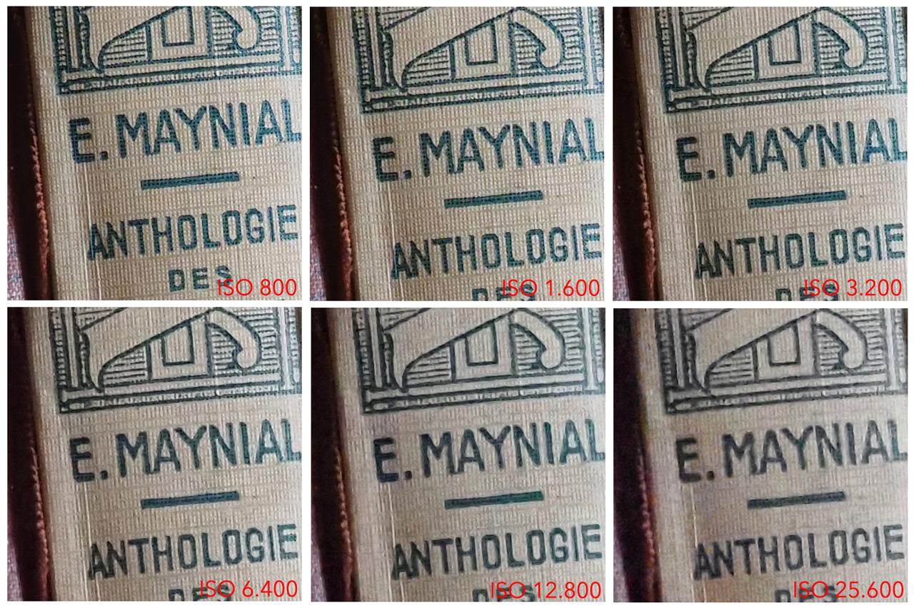 Olympus OM-D E-M1X ISO