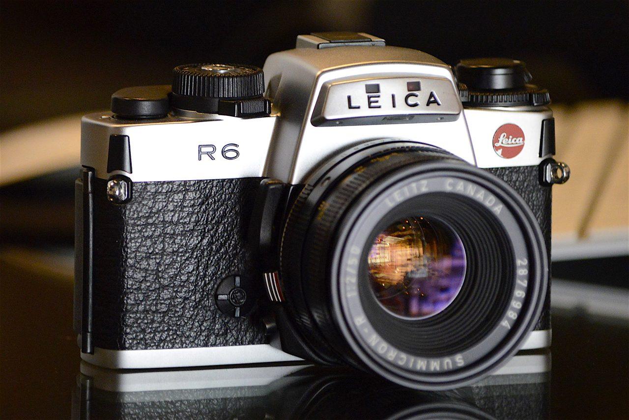 Leica R6 Chrome