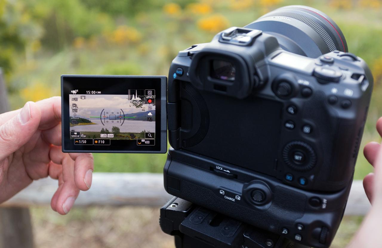Nuevo firmware para cámaras Canon EOS R5