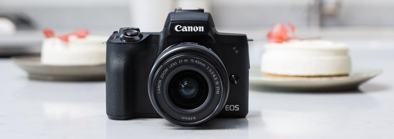 Canon EOS M50 Mark II Front