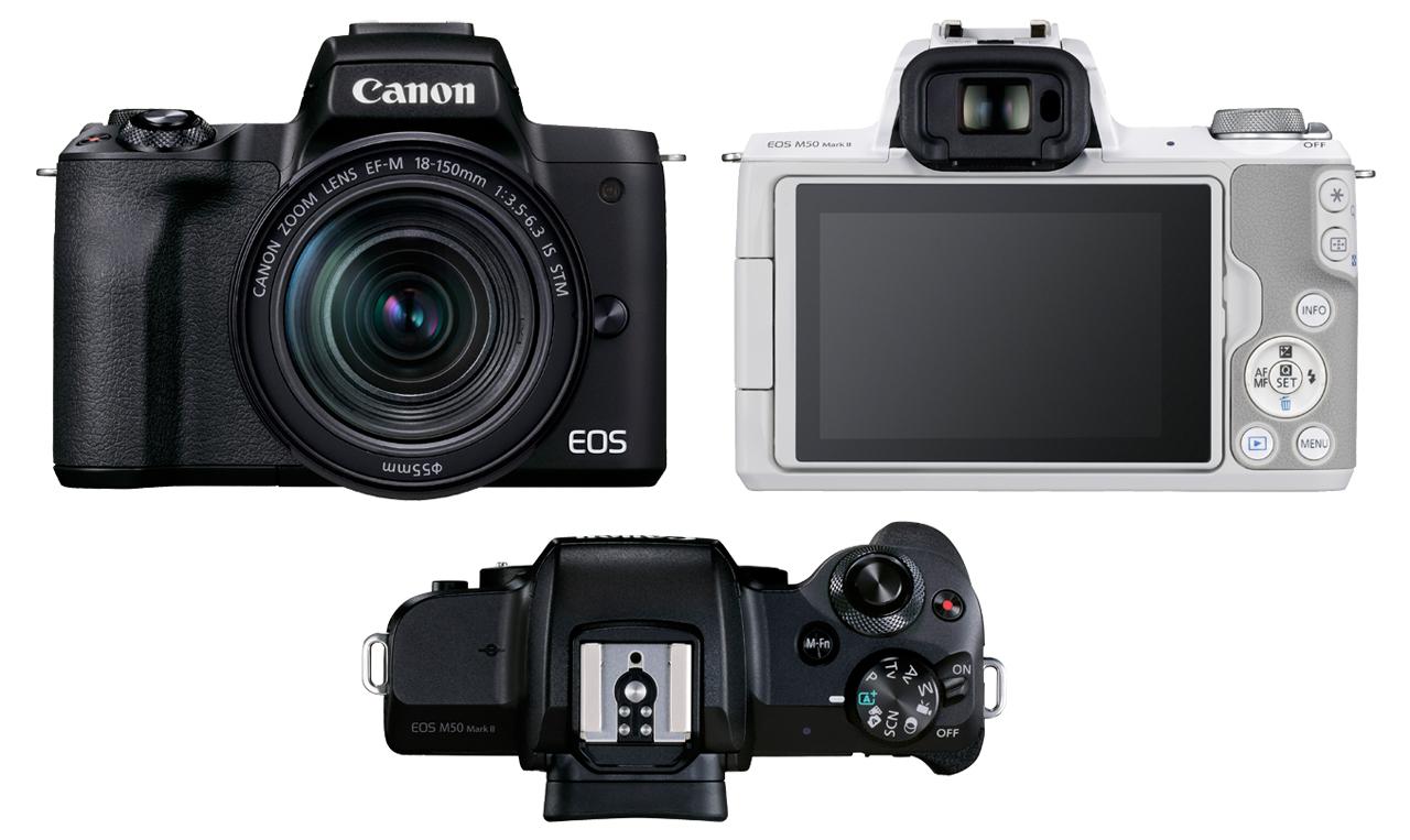 Canon EOS M50 Mark II Combo