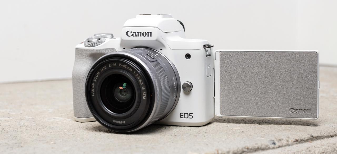 Canon EOS M50 Mark II Screen