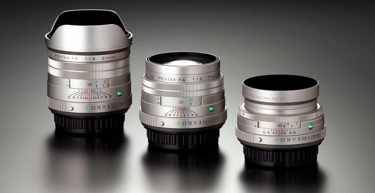 Nuevas ópticas Pentax Limited 2