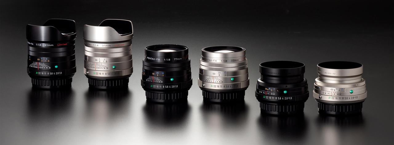 Nuevas ópticas Pentax Limited 1