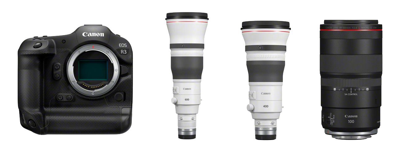 Novedades Canon EOS R 3