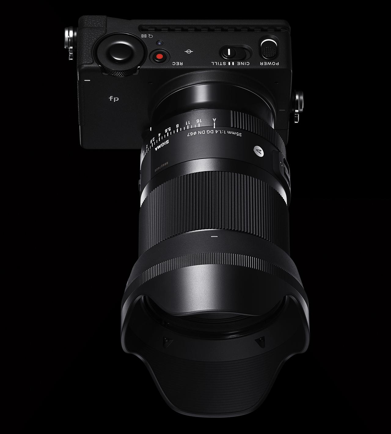 Sigma 35mm ƒ/1.4 DG DN ART Black