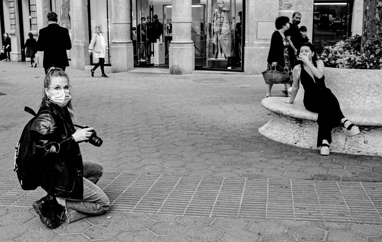 Leica R6 Street photo