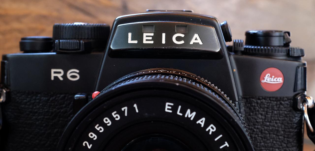 Leica R6 View
