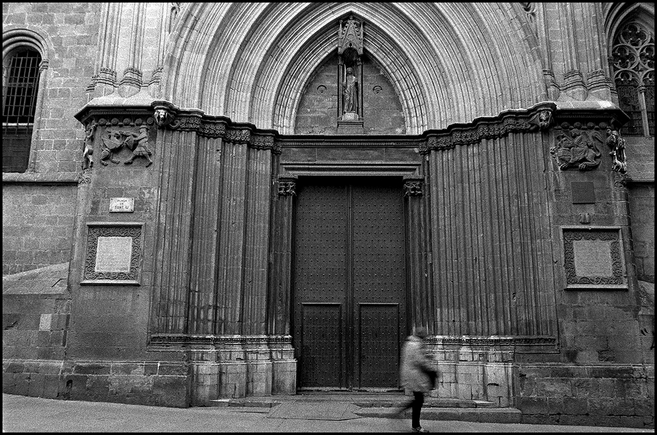 Ilford HP5 Plus 400 Cathedral