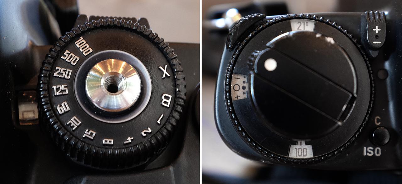 Leica R6 Dials