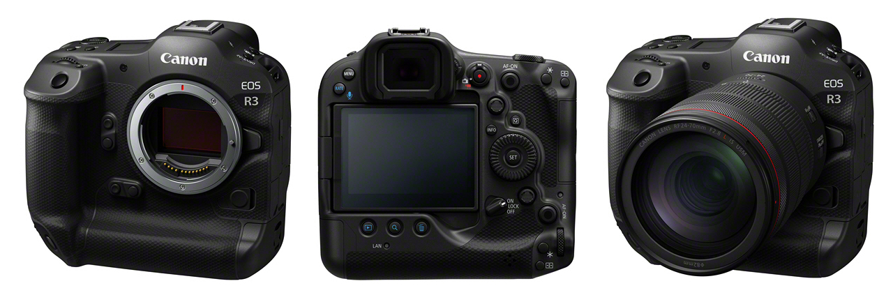Canon EOS R3 Views