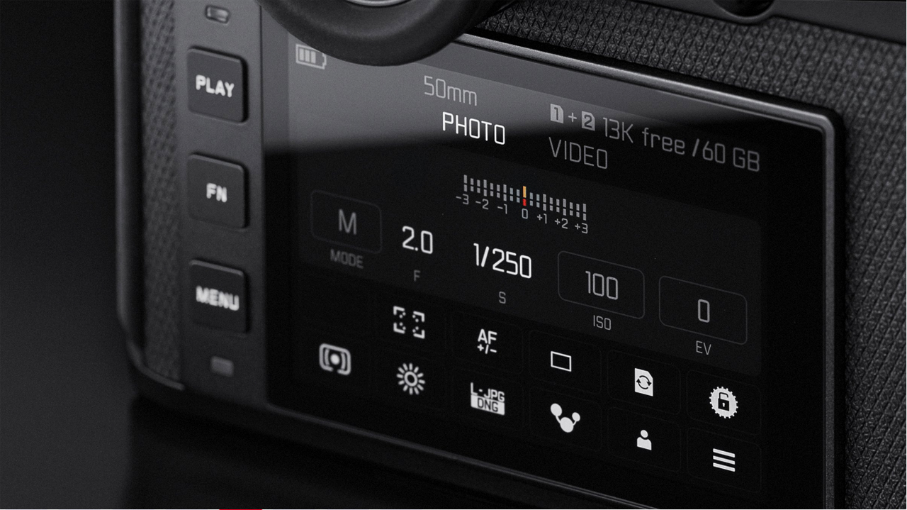 Leica SL2 LCD Screen