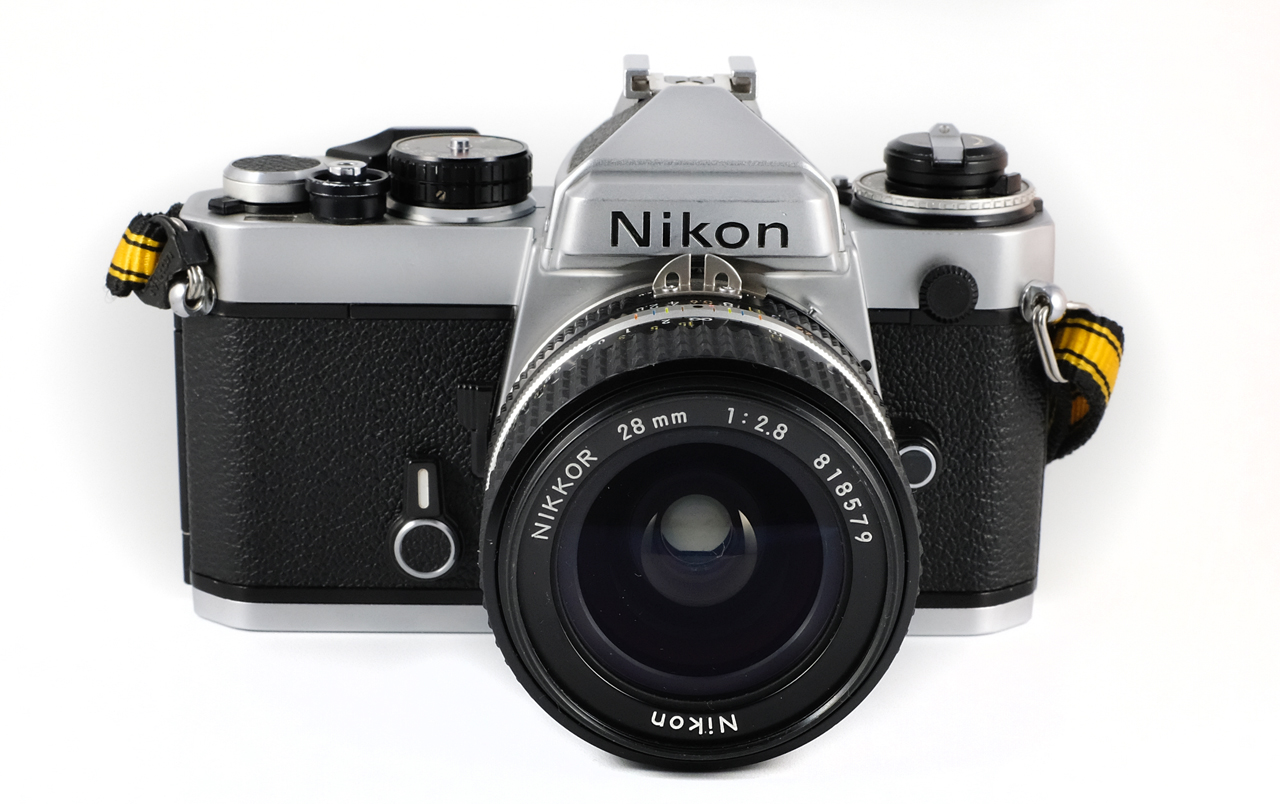 Nikkor 28mm ƒ/2.8 Ai-s in camera