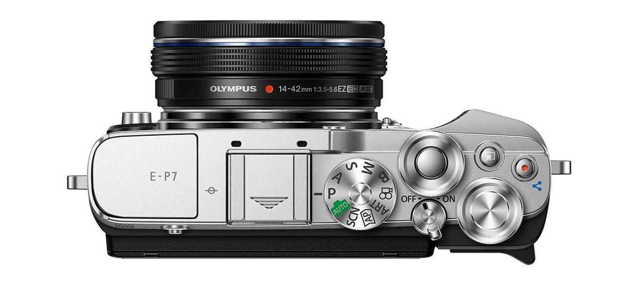 Olympus PEN E-P7 top