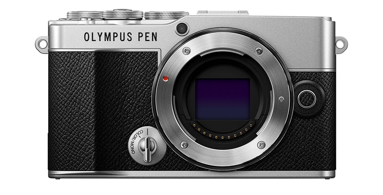 Olympus PEN E-P7 front