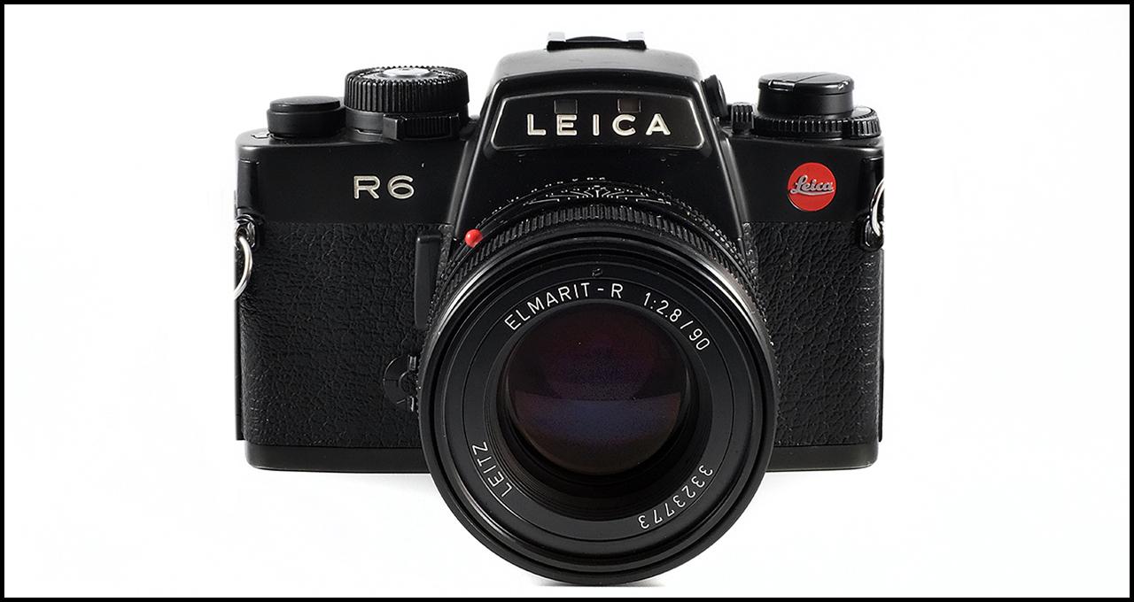 Leitz Elmarit-R 90mm ƒ/2.8 II On Leica R6