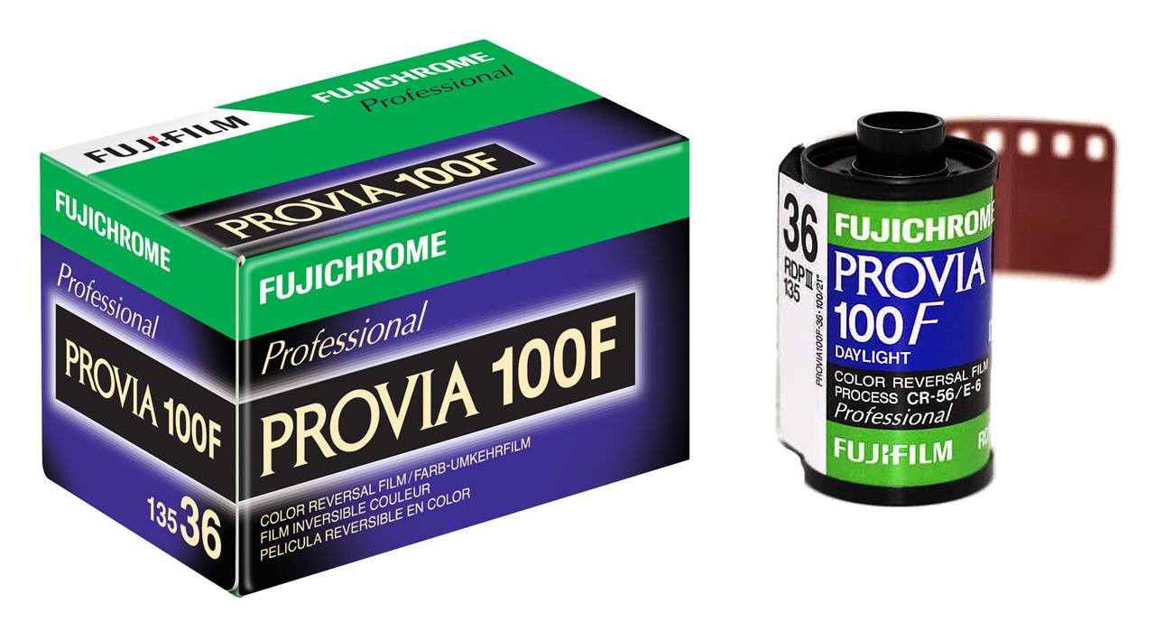 Fujichrome Provia 100F Professional 35mm