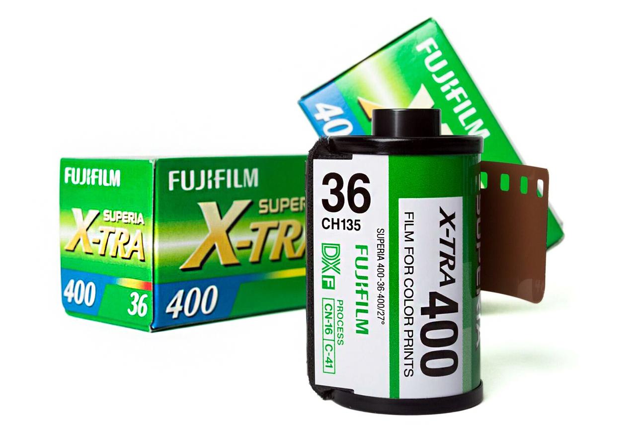Fujifilm Superia X-Tra 400 Combo