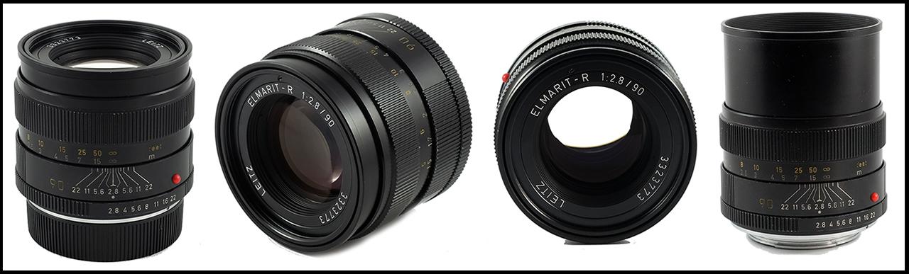 Leitz Elmarit-R 90mm ƒ/2.8 II Combo