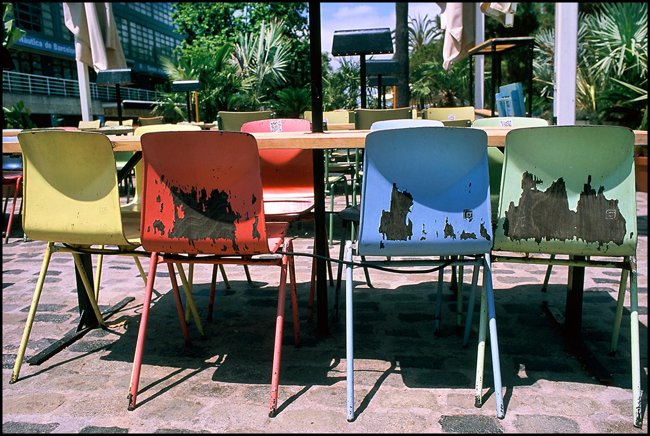 Fujichrome Provia 100F Chairs
