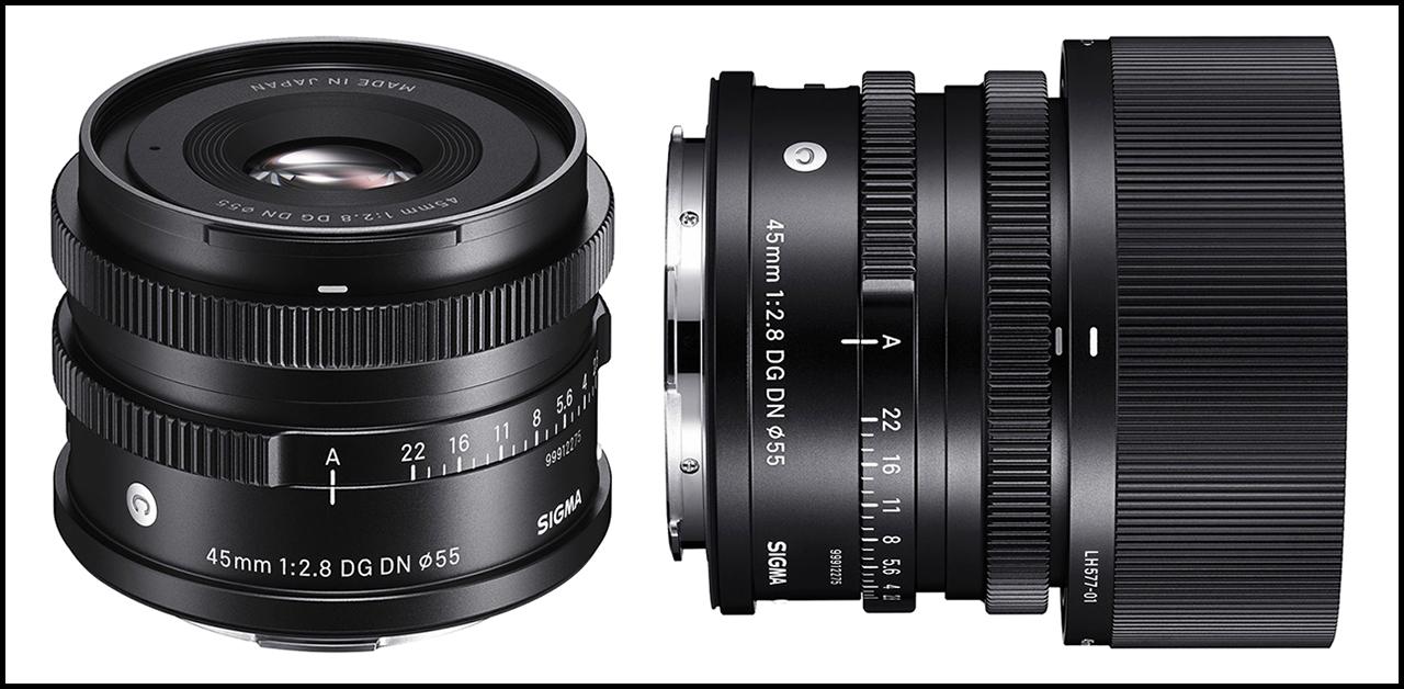 Sigma 45mm ƒ/2.8 DG DN Contemporary Combo