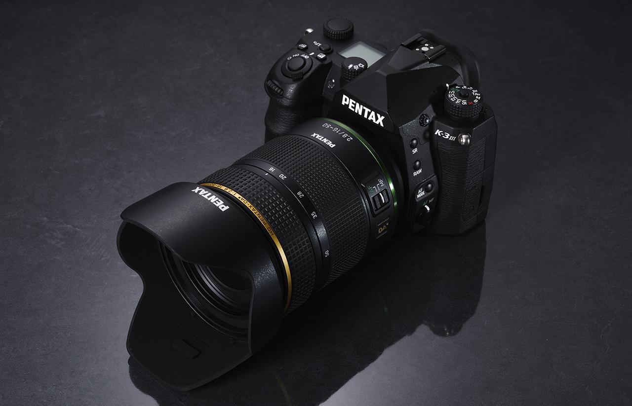 HD PENTAX-DA 16-50mm ƒ/2.8ED PLM AW AF