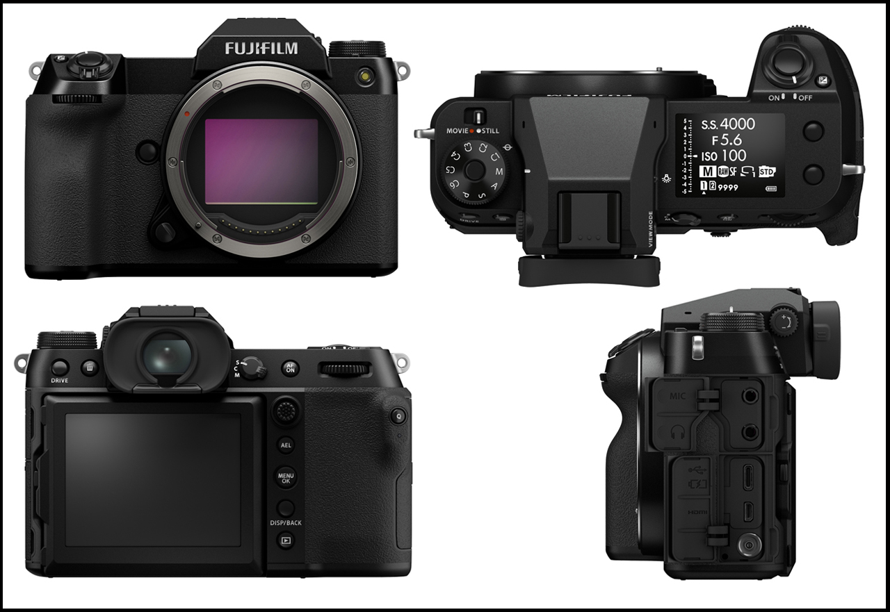 Fujifilm GFX50S II Views