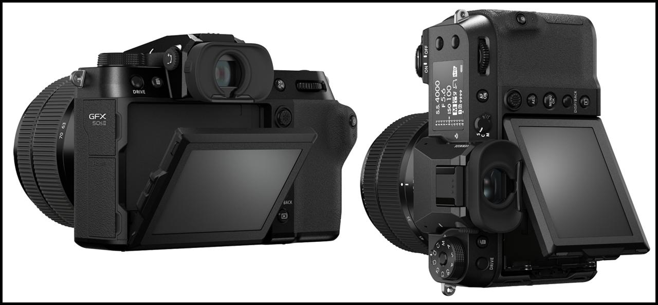 Fujifilm GFX50S II LCD Screen