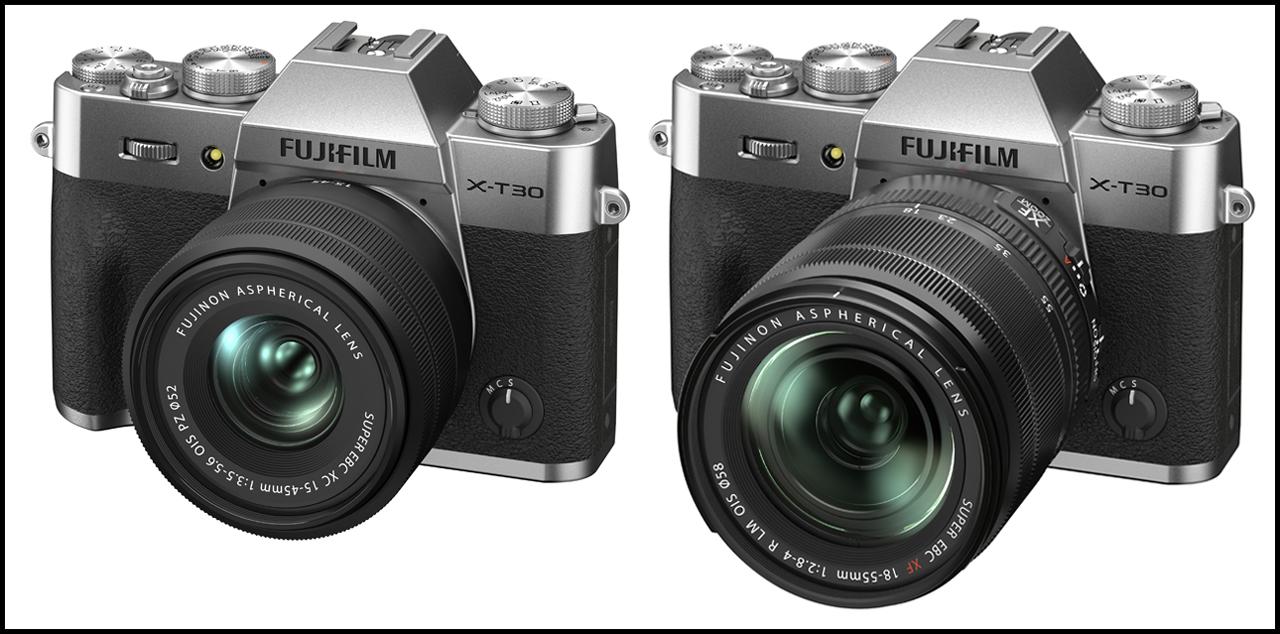 Fujifilm X-T30 II Silver Lens