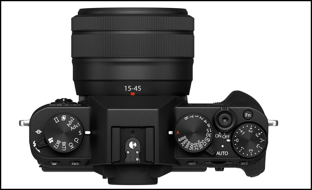 Fujifilm X-T30 II Top Black Lens