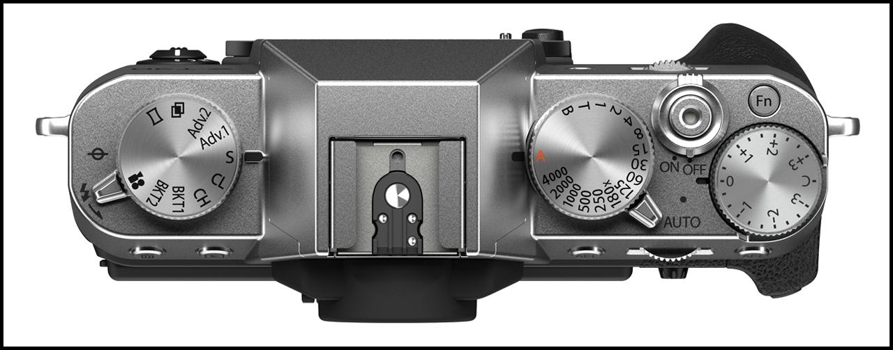 Fujifilm X-T30 II Top Silver