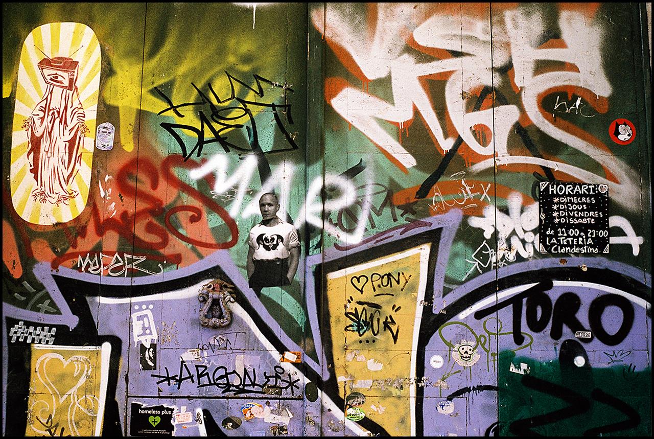 Nikon F3 Street Art