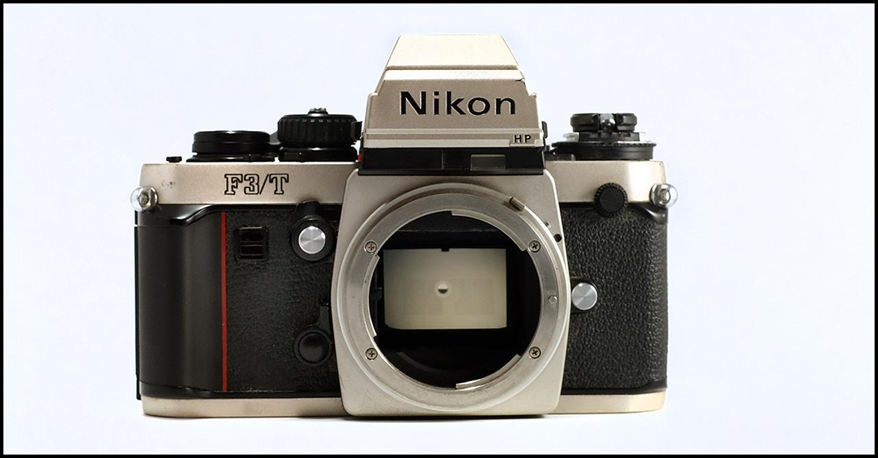 Nikon F3/T Front
