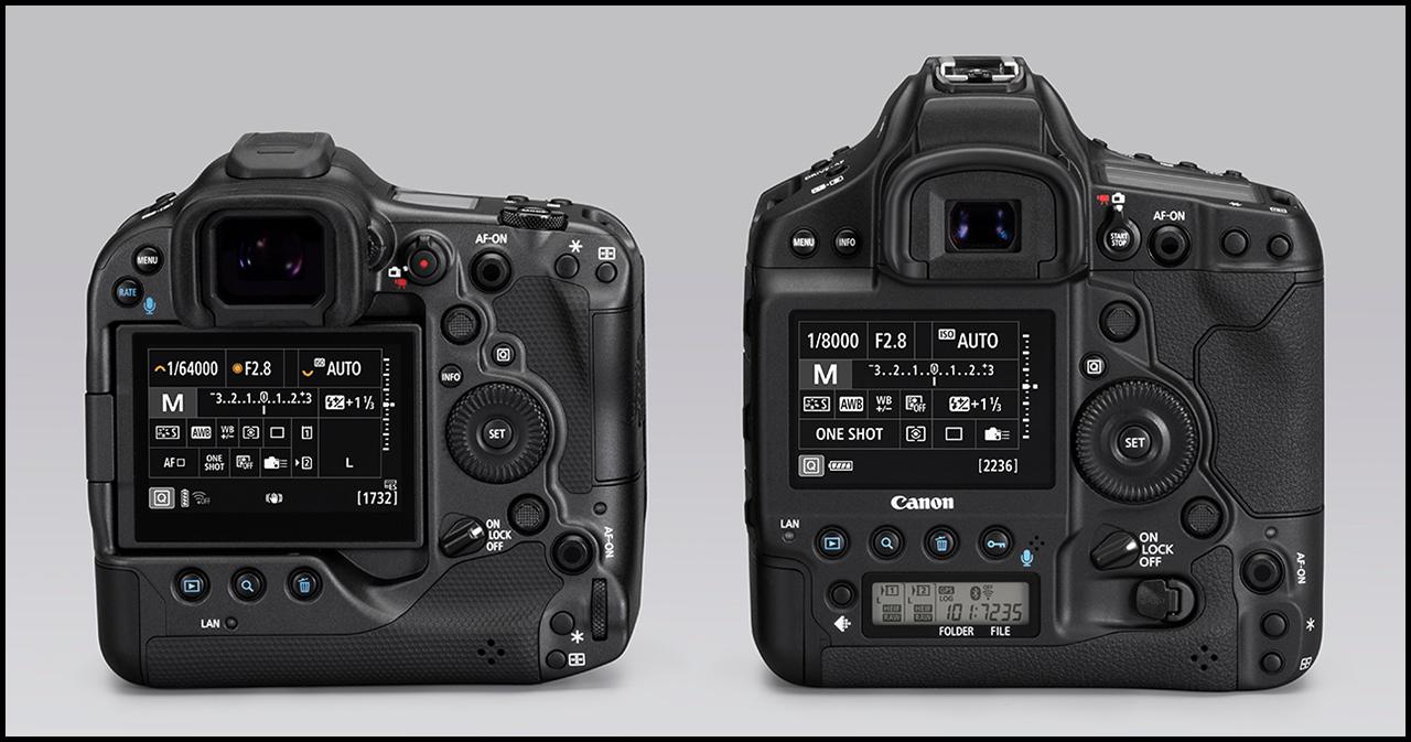Canon EOS R3 Comparisson