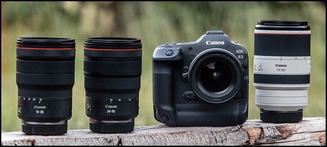 Canon EOS R3 Lenses 1