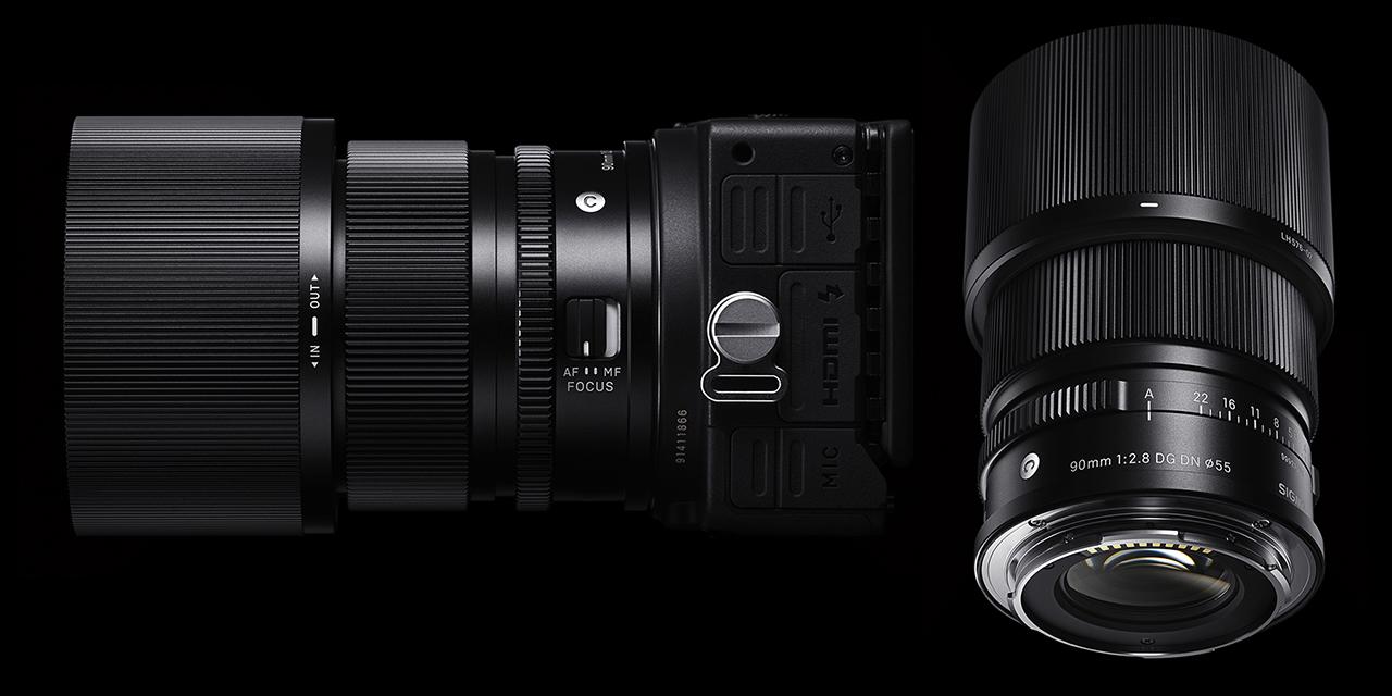 Sigma 90mm ƒ/2.8 DG DN Contemporary In Black