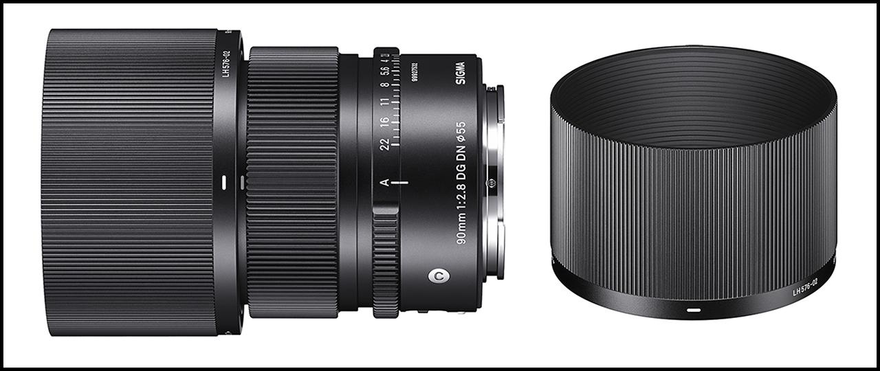 Sigma 90mm ƒ/2.8 DG DN Contemporary Combo